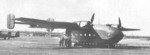 Ar 232 aircraft resting at an airfield, date unknown; photo 1 of 2