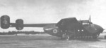 Ar 232 aircraft resting at an airfield, date unknown; photo 2 of 2