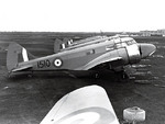 Canadian AS.10 Oxford aircraft at rest, circa 1939-1944, photo 2 of 3