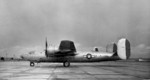 XB-32 prototype bomber at rest, 28 Feb 1944