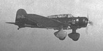 B5M torpedo bomber in flight, date unknown