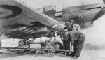 Arming a Battle light bomber, date unknown