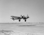 Beaufighter Mk VIC aircraft of No. 235 Squadron RAF taking off at Luqa, Malta, 15 Jun 1942