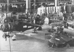 Boomerang fighters under construction at Commonwealth Aircraft Corporation factory, Fishermen