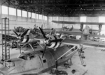Catalina aircraft of No. 205 Squadron RAF undergoing service at Seletar, Singapore, mid-1941