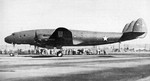 Prototype C-69 Constellation aircraft at Burbank, California, United States, 9 Jan 1943; seen in US Navy publication Naval Aviation News dated 15 Feb 1943