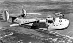 PB2Y Coronado aircraft of US Navy VP-13 squadron in flight, Nov 1940