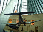 Suspended Corsair in the Leatherneck Gallery at the National Museum of the Marine Corps, Quantico, Virginia, United States, 15 Jan 2007, photo 3 of 3