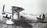 Italian CR.32 biplane fighter at rest, date unknown