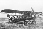 Italian-built CR.32 fighter during the Spanish Civil War, 1936-1939