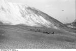 German glider troops running out of a landed DFS 230 C-1 glider, Gran Sasso, Italy, 12 Sep 1943