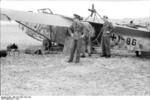 German DFS 230 glider, Sicily, Italy, 1943, photo 1 of 2