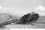 German DFS 230 C-1 glider being destroyed after use at Gran Sasso, Italy, 12 Sep 1943, photo 2 of 7