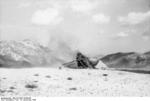 Destroyed frame of a DFS 230 C-1 glider after use, Gran Sasso, Italy, 12 Sep 1943