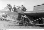 German glider troopers in exercise in a DFS 230 glider, Italy, 1943, photo 2 of 2