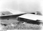 German glider trooper exiting a DFS 230 glider, Crete, Greece, May-Jun 1941
