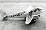 DH.89 Dragon Rapide aircraft of Weston Ltd., Liverpool (Speke) Airport, England, United Kingdom, 1949