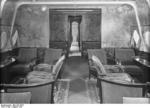 Passenger lounge aboard Do X aircraft, Aug 1930, photo 1 of 2
