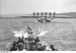 Do X aircraft taxiing on water, 1930