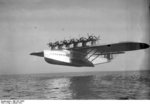 Do X aircraft in flight, Jan 1932
