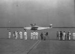 Do X aircraft arriving on the Suriname River near Paramaribo, Dutch Guiana (now Suriname), 18 Aug 1931