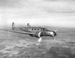 Student pilot and traininer flying a AT-7 Navigator aircraft out of Kelly Field, Texas, United States, 1937-1940