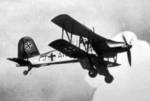 Fi 167 aircraft in flight, date unknown