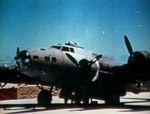 B-17E aircraft being serviced at Eastern Island, Midway Atoll, May-Jun 1942, photo 1 of 2