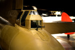 Close-up of the tail gun of the B-17 Flying Fortress bomber on display at the National Museum of the United States Air Force, Dayton, Ohio, United States, 27 Jun 2014