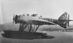 GL-812 HY floatplane in flight, 1930s