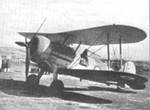 Sea Gladiator Mark I aircraft at rest, RAF Takali, Malta, Nov 1940-May 1941; this aircraft was given to the people of Malta in 1943 as