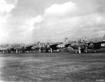A-20 aircraft of 13th Bomb Squadron of USAAF 3rd Bomb Squadron, Hollandia, Dutch New Guinea, 1944