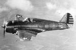 Hawk fighter in flight, pre-May 1942