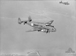 Two Hudson bombers of No. 13 Squadron Royal Australian Air Force in flight Darwin, 1940