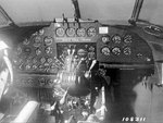 Cockpit of a Hudson bomber, date unknown
