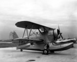 J2F-3 Duck aircraft at Naval Air Station Jacksonville, Florida, United States, 1940