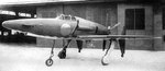 J7W1 Shinden prototype aircraft at rest, circa Jul 1945, photo 1 of 4