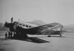 Ju 52 aircraft of Eurasia Aviation Corporation, a subsidiary of Lufthansa, at Kai Tak Airport, Kowloon Hong Kong, 1930s
