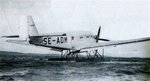 Floatplane variant of Ju 52, date unknown