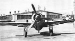 Head-on view of a Ki-115 Tsurugi aircraft, date unknown