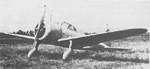 Ki-27 fighter resting on an airfield, date unknown