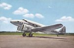 Postcard featuring a AT-2 aircraft of Japan Air Transport airliner, circa 1937