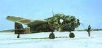 Ki-45 resting on a snowy airfield, date unknown