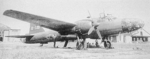 Ki-67 aircraft at rest, date unknown