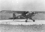 L-4 Grasshopper aircraft at rest, mid-1940 to May 1942