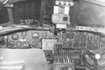 Cockpit of a B-24J Liberator bomber, date unknown