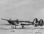 P-38F Lightning aircraft of 50th Fighter Squadron, USAAF 14th Fighter Group at Camp Tripoli airfield, Iceland, Nov 1942