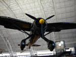 Lysander aircraft on display at the Smithsonian Air and Space Museum Udvar-Hazy Center, Chantilly, Virginia, United States, 26 Apr 2009