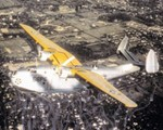 PBM-1 Mariner aircraft of US Navy Patrol Squadron VP-56 in flight, 1940