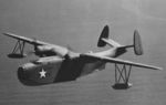 PBM-3 Mariner aircraft of US Navy Patrol Squadron VP-74 in flight, 1942